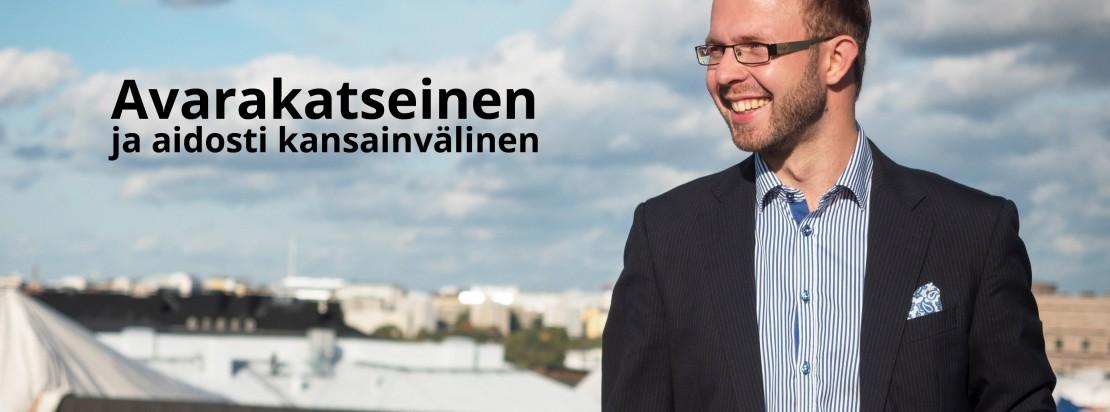 Eduskuntavaalit ehdokas kokoomus Helsinki